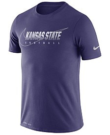 Nike Men's Kansas State Wildcats Facility T-Shirt