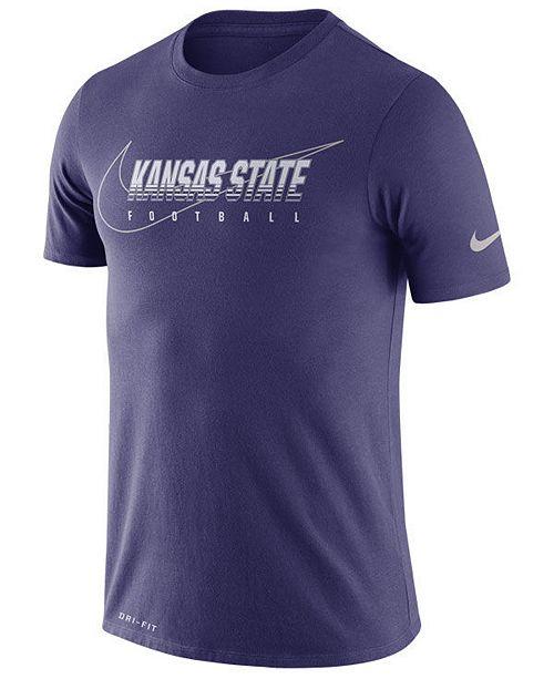 Nike Men's Kansas State Wildcats Facility T-Shirt