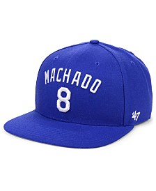 '47 Brand Manny Machado Los Angeles Dodgers Player Snapback Cap