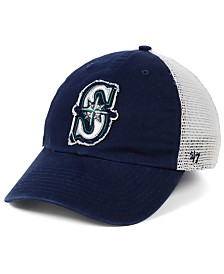 '47 Brand Seattle Mariners Stamper Mesh CLOSER Cap