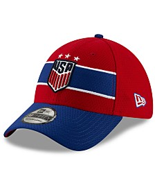 New Era Women's USA National Team Pop Flash 39THIRTY Stretch Fitted Cap