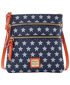 Dooney & Bourke Houston Astros North South Triple Zip Purse