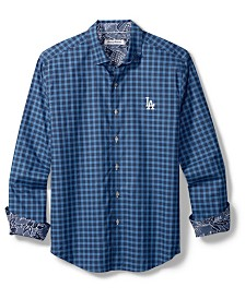 Tommy Bahama Men's Los Angeles Dodgers Competitor Button Up Shirt