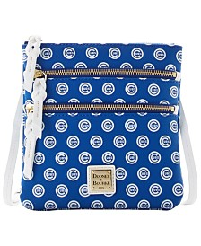 Dooney & Bourke Chicago Cubs North South Triple Zip Purse