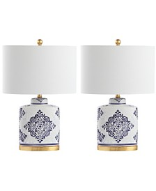 Safavieh Kamdyn Set of 2 Table Lamp