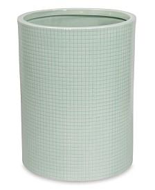 DKNY Fine Grid Wastebasket