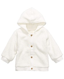 Baby Boys & Girls Hooded Faux-Sherpa Hoodie, Created for Macy's