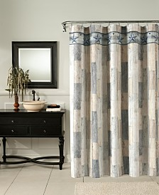 M.Style Weathered Wood Shower Curtain