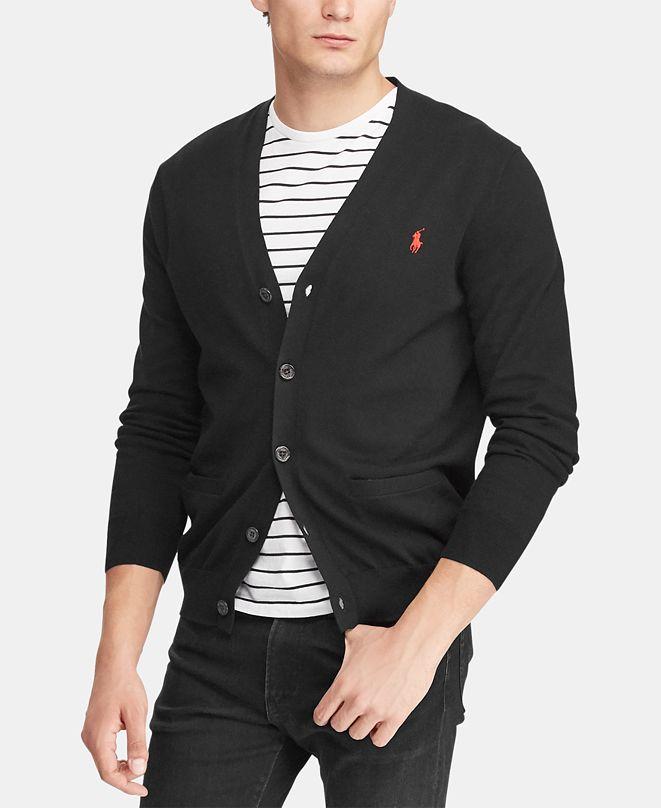 Polo Ralph Lauren Men's Cotton Cardigan Sweater