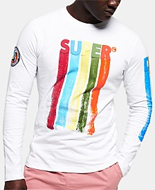 Superdry Men's Retro Surf Long-Sleeve Graphic T-Shirt