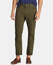 Men's Stretch Sateen Five-Pocket Pants