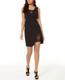 Thalia Sodi Lace-Inset Sheath Dress, Created for Macy's