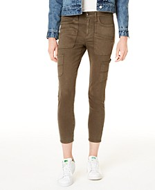 Mid-Rise Carpenter Ankle Skinny Jeans