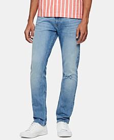 Men's Slim-Fit Stretch Destroyed Jeans