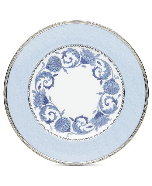 Noritake Dinnerware, Sonnet in Blue Accent Plate