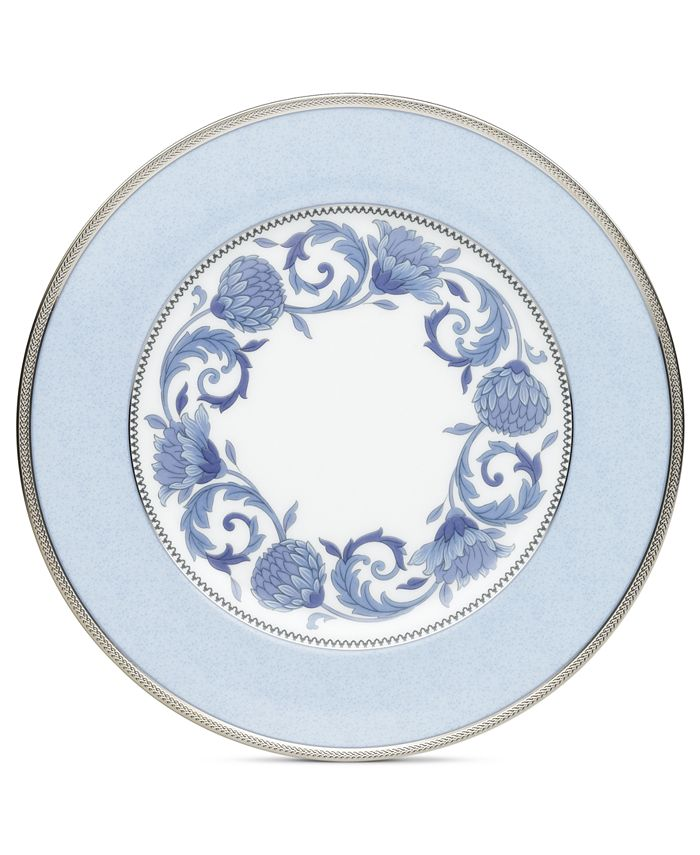 Noritake - Sonnet in Blue Accent Plate