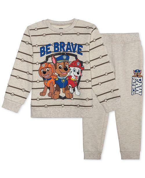 Nickelodeon Toddler Boys PAW Patrol 2-Pc. Sweatshirt & Joggers Set
