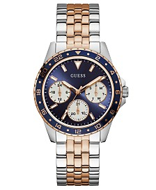 GUESS Women's Odessa Two-Tone Stainless Steel Bracelet Watch 40mm