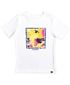 Toddler & Little Boys Wave-Print Cotton T-Shirt