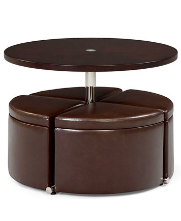 Neptune Coffee Table With Storage Ottomans Furniture