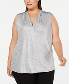 Calvin Klein Plus Size Sleeveless Tank Top