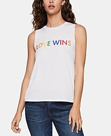 Love Wins-Graphic Tank Top