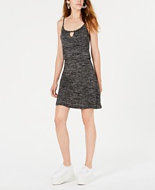 Bar III Keyhole Popover Dress, Created for Macy's
