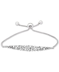 Diamond Scatter Bolo Bracelet (5/8 ct. t.w.) in 14k White Gold