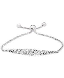 Diamond Scatter Bolo Bracelet (5/8 ct. t.w.) in 14k White Gold