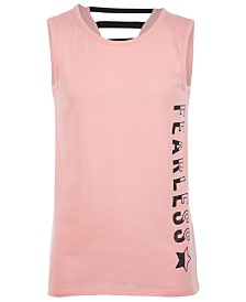 Ideology Big Girls Back Strap Tank Top, Created for Macy's