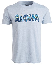 Univibe Men's Aloha Toucan Graphic T-Shirt