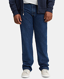 Levi's Men's Big & Tall 501 Original Fit Stretch Jeans