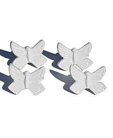 Vibhsa Butterfly Napkin Rings Set of 4