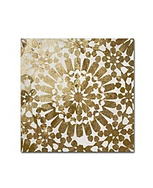 """Color Bakery 'Moroccan Gold I' Canvas Art - 35"""" x 35"""""""