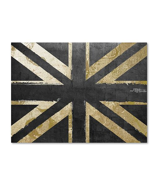 "Trademark Global Color Bakery 'Fashion Flag IV' Canvas Art - 18"" x 24"""