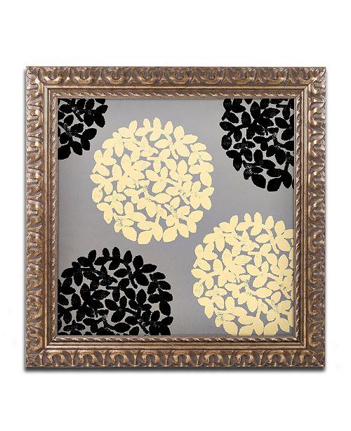 """Trademark Global Color Bakery 'English Garden VI' Ornate Framed Art - 11"""" x 11"""""""