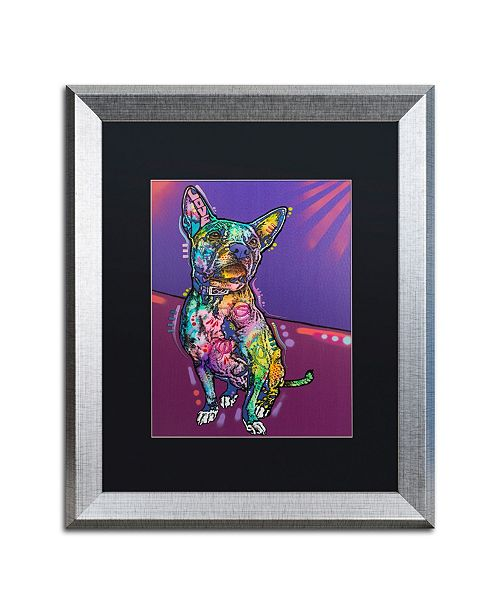 "Trademark Global Dean Russo 'Drummer' Matted Framed Art - 16"" x 20"""