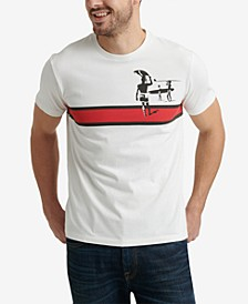 Men's The Endless Summer Stripe Graphic T-Shirt