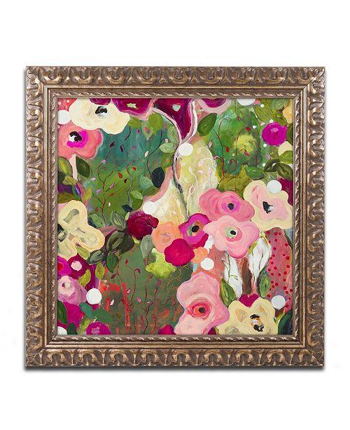 """Trademark Global Carrie Schmitt 'Intuition' Ornate Framed Art - 16"""" x 16"""""""