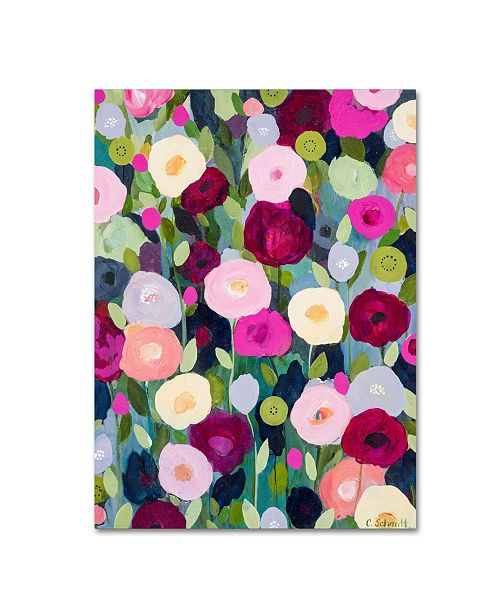"Trademark Global Carrie Schmitt 'Night Garden' Canvas Art - 14"" x 19"""
