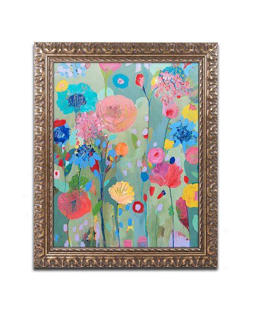 "Trademark Global Carrie Schmitt 'Dreamscape' Ornate Framed Art - 16"" x 20"""