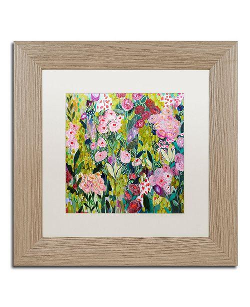 """Trademark Global Carrie Schmitt 'Illumination' Matted Framed Art - 11"""" x 11"""""""