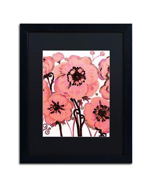 "Trademark Global Natasha Wescoat '007' Matted Framed Art - 16"" x 20"""