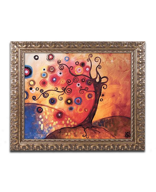 "Trademark Global Natasha Wescoat '013' Ornate Framed Art - 11"" x 14"""
