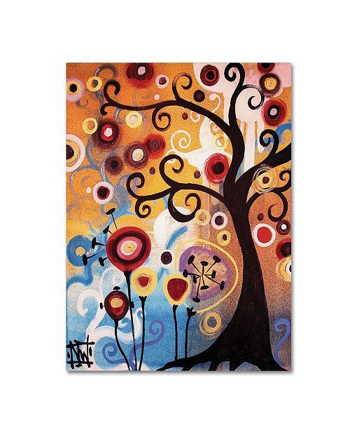 "Trademark Global Natasha Wescoat '017' Canvas Art - 14"" x 19"""