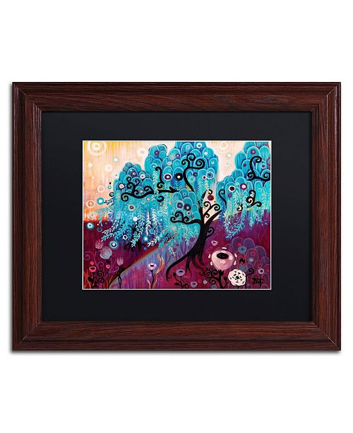 "Trademark Global Natasha Wescoat '033' Matted Framed Art - 11"" x 14"""