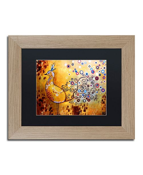 "Trademark Global Natasha Wescoat '044' Matted Framed Art - 11"" x 14"""