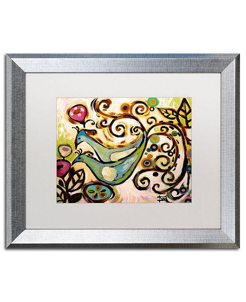 "Trademark Global Natasha Wescoat '045' Matted Framed Art - 16"" x 20"""