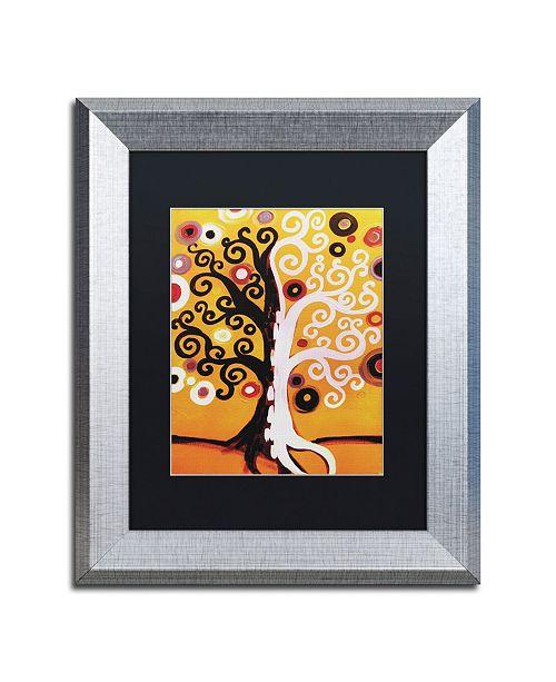 "Trademark Global Natasha Wescoat '067' Matted Framed Art - 11"" x 14"""