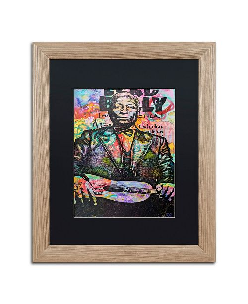 "Trademark Global Dean Russo 'Lead Belly' Matted Framed Art - 16"" x 20"""